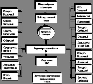 Организационная структура пао сбербанк 2020 схема
