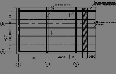 Монолитная плита перекрытия конструирование оттяжки для лэп опор