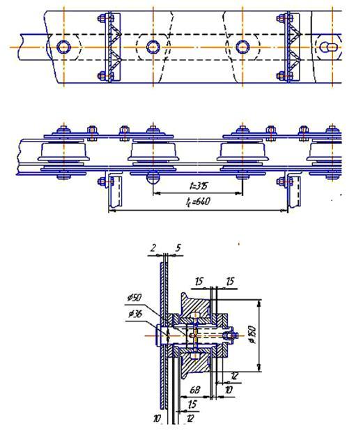 Типы цепей конвейеров расчет производительности винтовых конвейерах