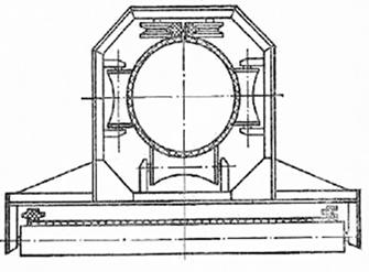 Расчет трубчатый конвейер подающего транспортера