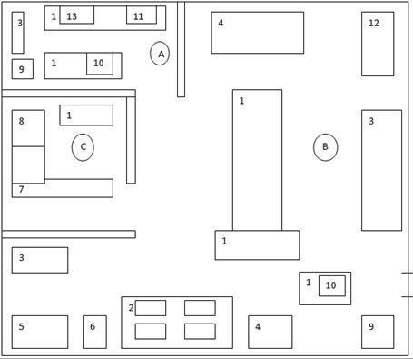 Схема горячего цеха с расстановкой оборудования фото 627