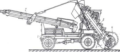 Многоковшовый конвейер авторынок транспортер 4