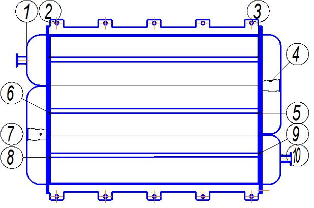 Расчет мощности теплообменника охлаждения Кожухотрубный конденсатор ONDA C 51.305.2400 Петрозаводск